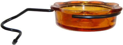 Glass  Oriole Feeder w/coil