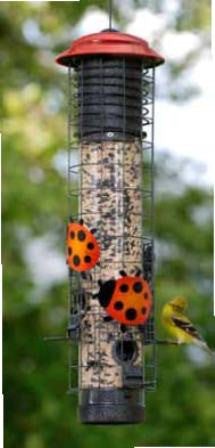 Ladybug Squirrel Proof Feeder