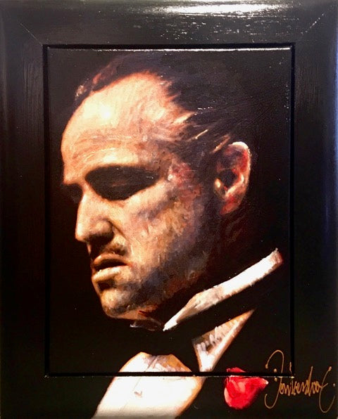 The Godfather | klein formaat 43 x 53 cm