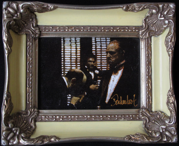 The godfather in white frame