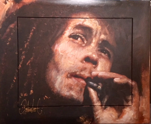 Bob Marley by Peter Donkersloot