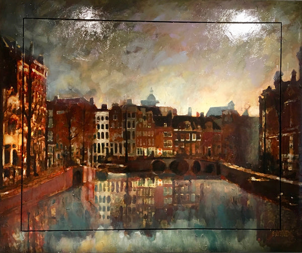 Amsterdam's Cityscape | Peter Donkersloot