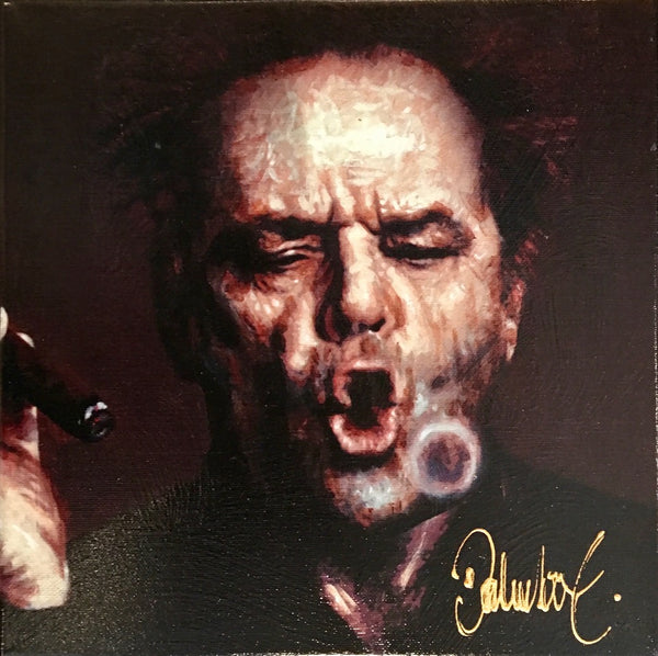 Jack Nicholson smoking cigar | Peter Donkersloot