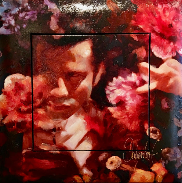 Pulp Fiction flowers | John Travolta