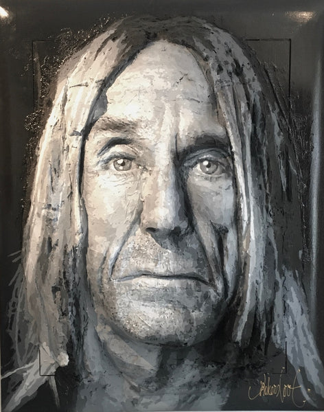 Iggy Pop | 3D art | Peter Donkersloot