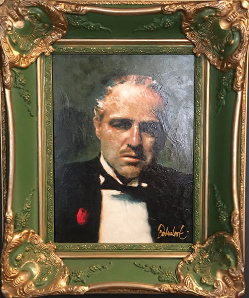 The Godfather in baroque frame
