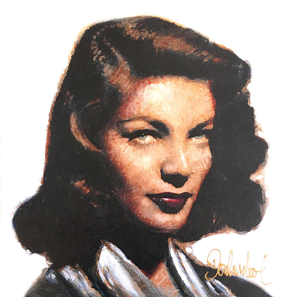 Kathryn Hepburn painting of this actress by Peter Donkersloot