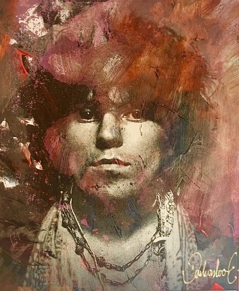 Keith Richards | Rolling Stones schilderij Peter Donkersloot