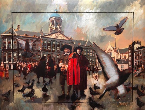 Rembrandt Dam Square | Peter Donkersloot