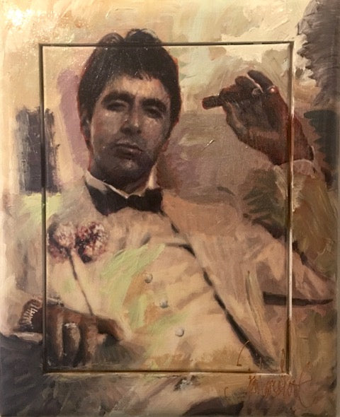 Scarface No. 2 | small size 43 x 53 cm