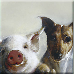 piggy and dog