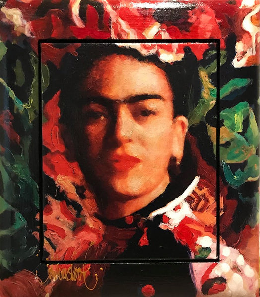 frida Kahlo painting peter Donkersloot