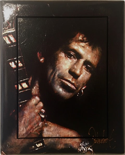 Keith Richards | small size 43 x 53 cm