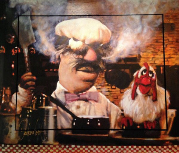 The Swedish chef |Peter Donkersloot