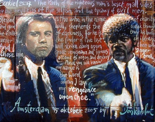 Pulp Fiction | John Travolta & Samuel L. Jackson | Peter Donkersloot