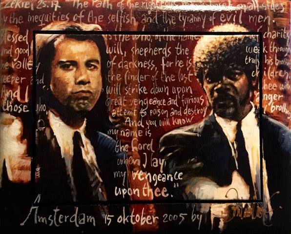 Pulp Fiction | small size 43 x 53 cm