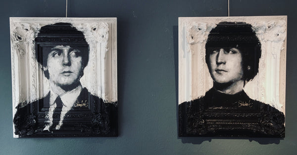 The Beatles paintings by Peter Donkerrsloot