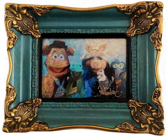 The muppets in baroklijstje