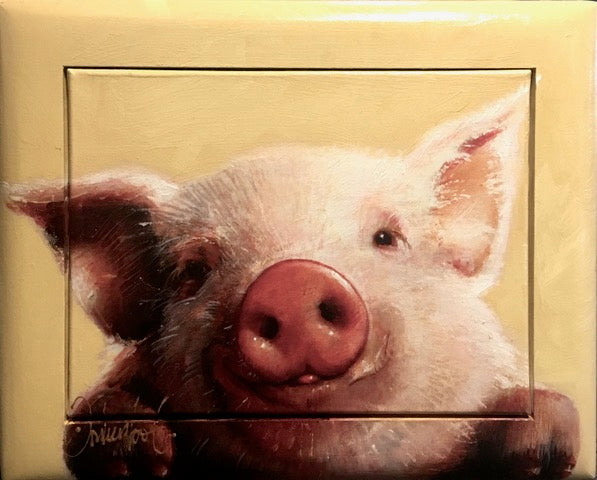 Little pig | small size 43x53cm