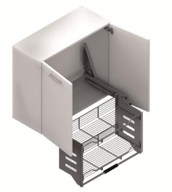 Pull Down Shelf with Lift - CANMADE