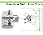 Optima cam adjustment plates - CANMADE