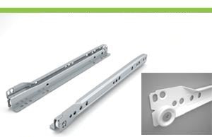 Bottom mount slides