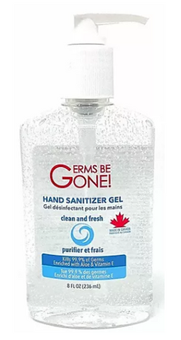 Germs Be Gone Hand Sanitizer Gel