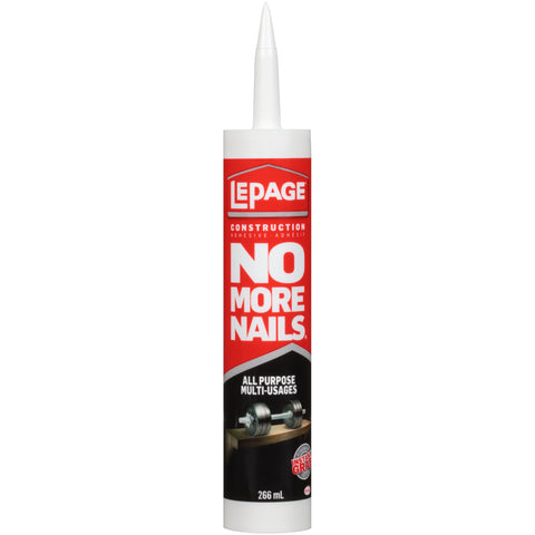 LePage No More Nails® All Purpose Construction Adhesive - CANMADE