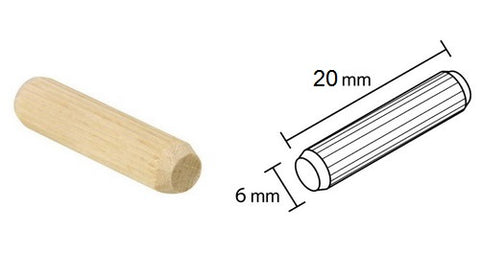 Wooden dowels - CANMADE