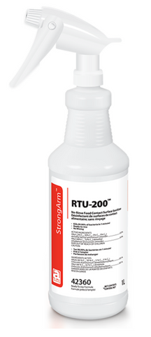 RTU-200 No Rinse Food Contact Surface Sanitizer