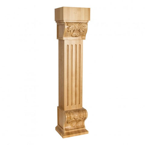Acanthus Fluted Traditional Fireplace Corbel - CANMADE