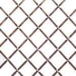 "Decorative wire mesh. Cross pattern with 3/4"" wide opening in antique brass finish (gold base colour with dark dusting to appear antique)."
