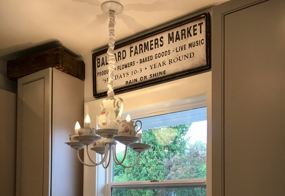 Farmers Market Sign Review