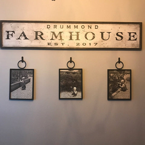 Hanging FarmHouse sign