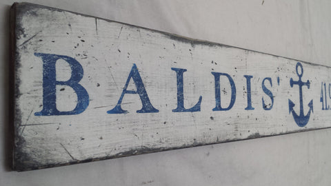 Baldwin Nautical Sign