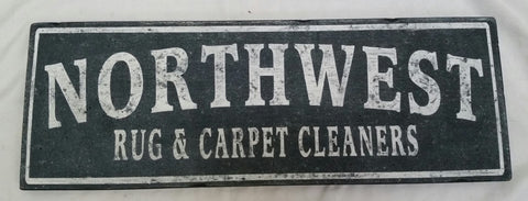 Northwest Rug and Carpet Cleaners sign