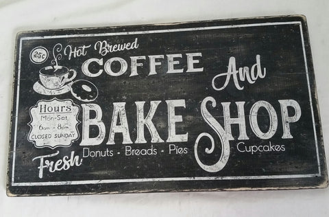 Coffee and Bake Shop