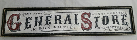 Framed General Store Sign