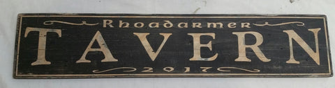 Rhoadarmer Tavern Sign