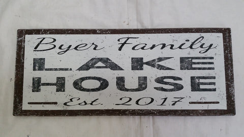 Byer Family Lake House