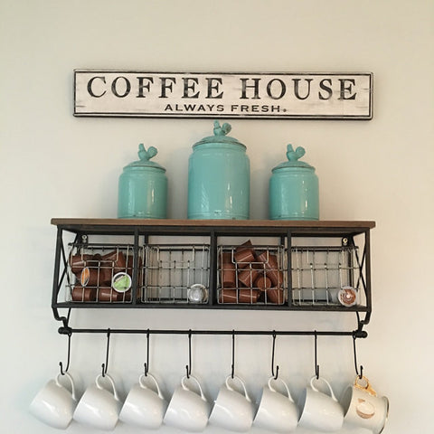 Coffee House Sign Kitchen