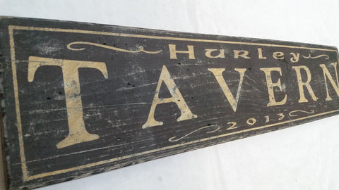 Hurley's Tavern Sign