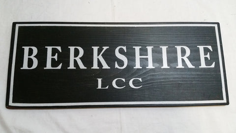 Berkshire, LCC sign