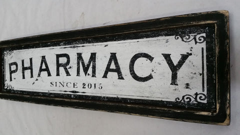 Pharmacy Sign customized example