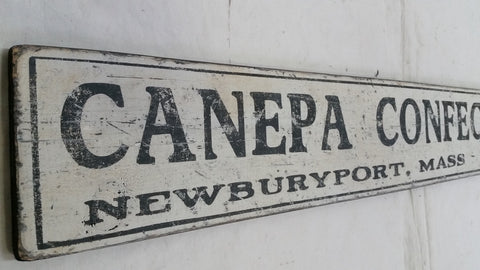 Canepa Confections sign
