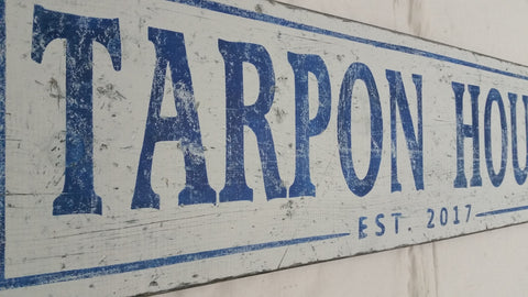 Tarpon House sign