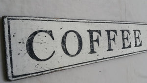 Close up of Coffee Bar Sign