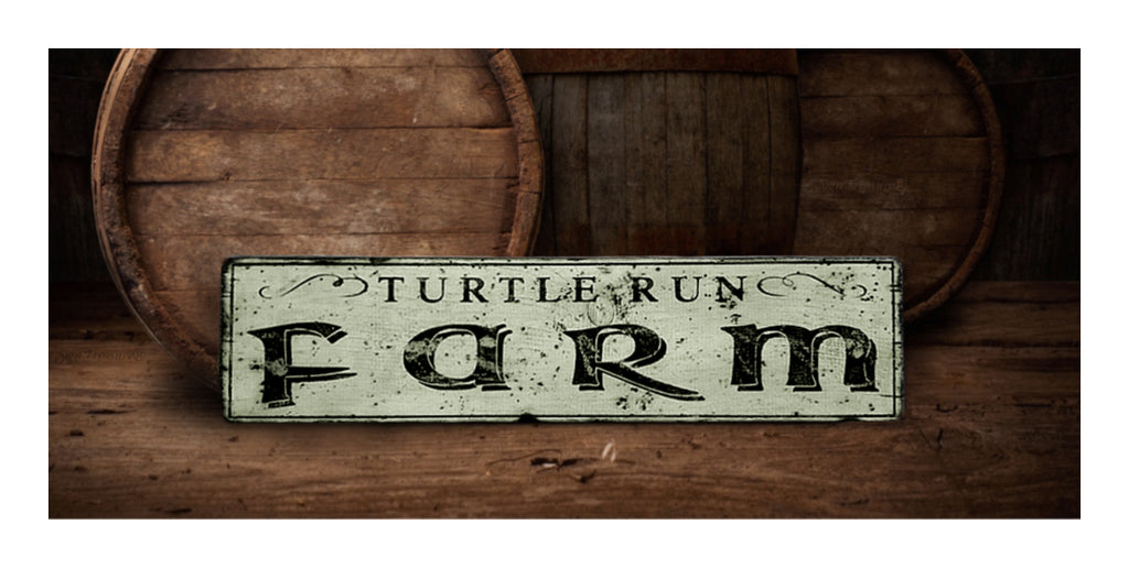 Farm Wood sign