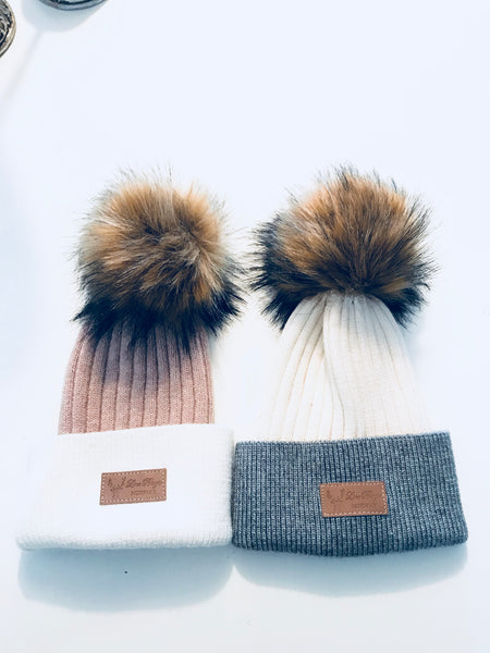 Cashmere and wool hats