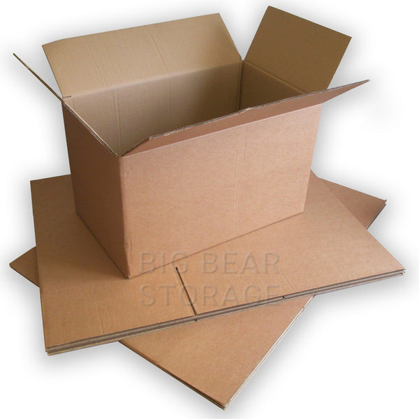 "Book Box Double Wall Cardboard Boxes (18""x12""x12"")"